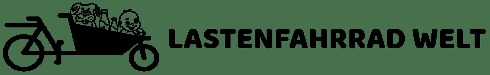 lastenfahrrad welt logo schwarz