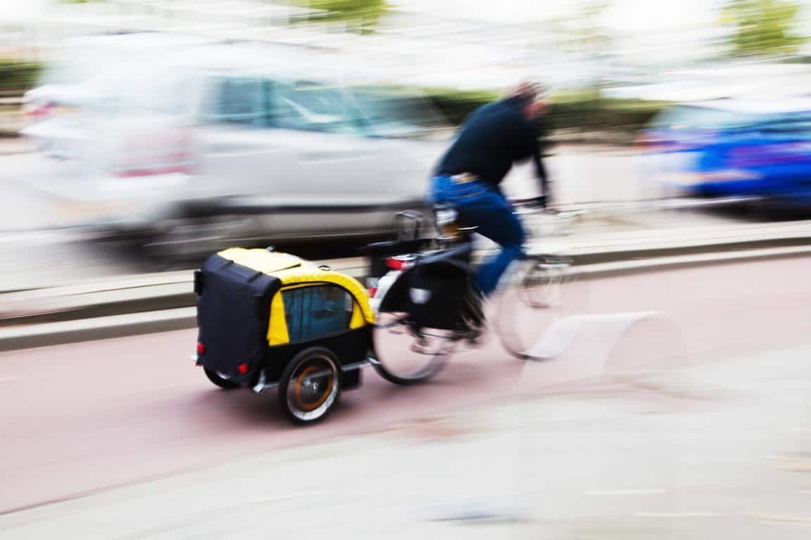 Fahrrad-Lastenanhänger
