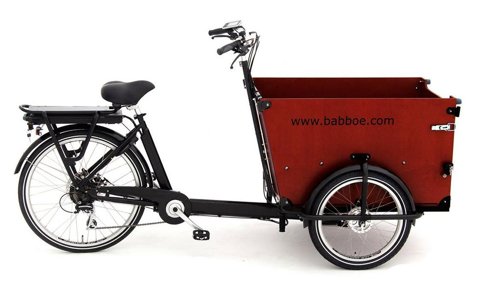 Cargo-Fahrrad für Hunde